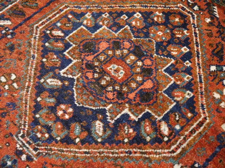Antique Tribal Nomadic Carpet Large Size For Sale 10