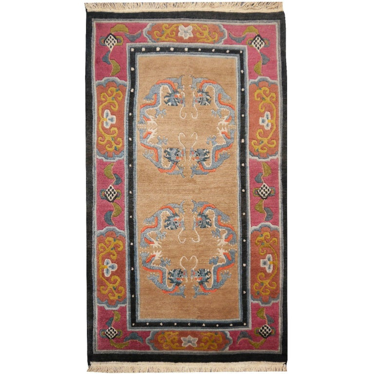 Tibetan Yoga Khaden Meditation Rug For Sale