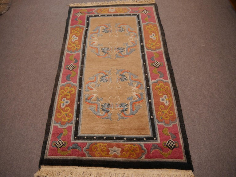 Nepalese Tibetan Yoga Khaden Meditation Rug For Sale