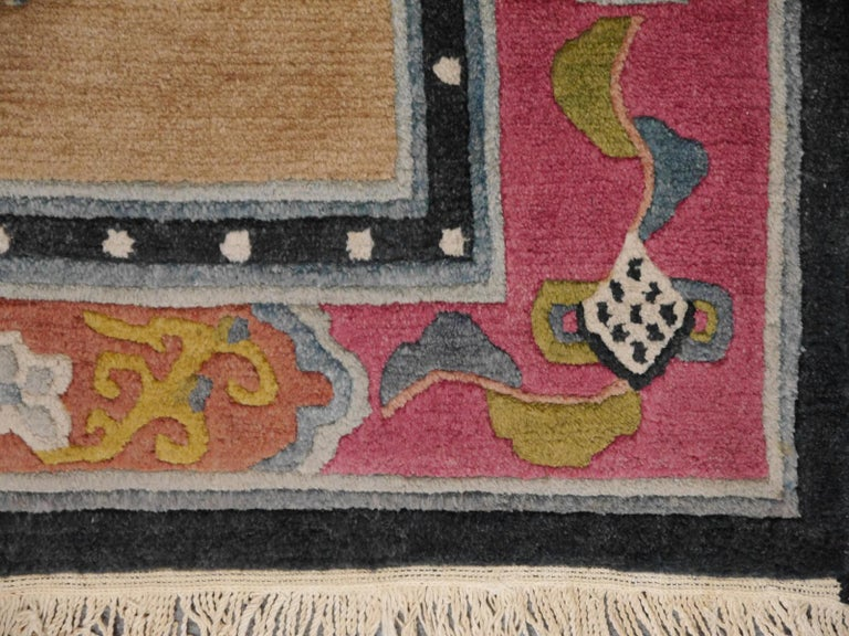 Tibetan Yoga Khaden Meditation Rug For Sale 1