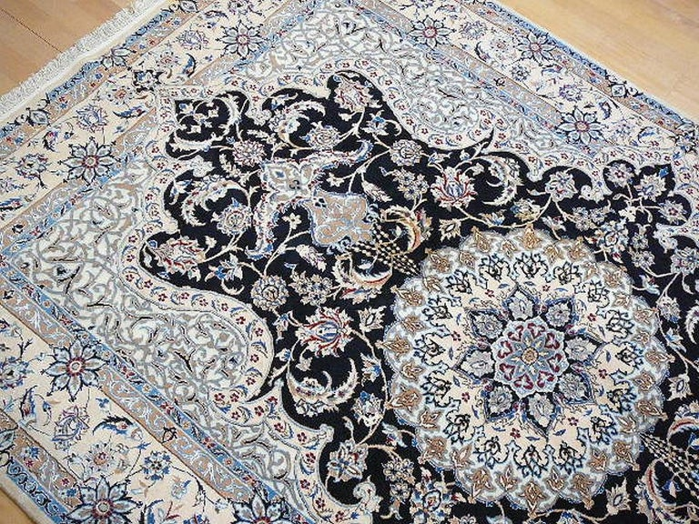 20th Century Very Fine Nain Rug For Sale