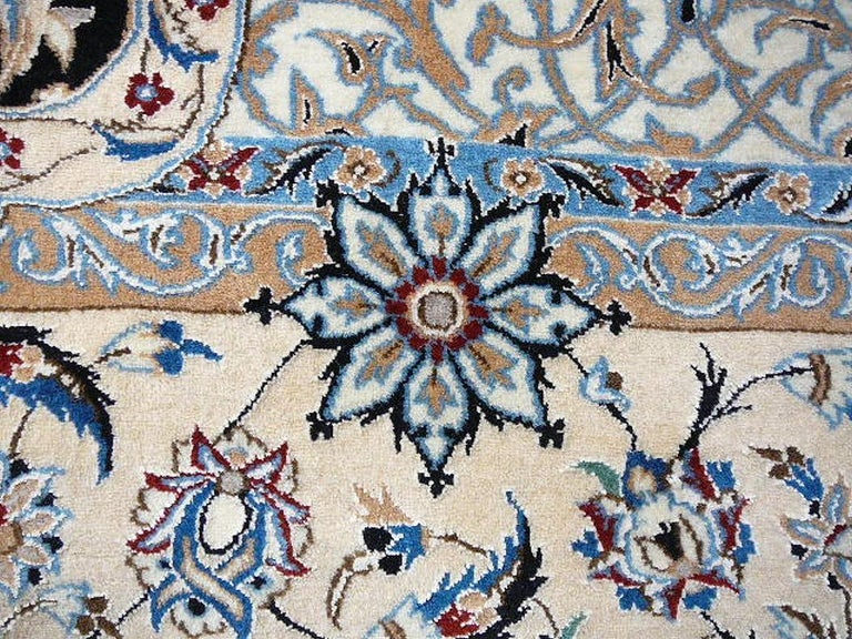 Very Fine Nain Rug For Sale 7