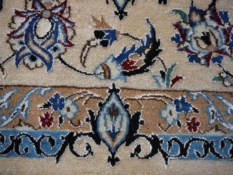 Very Fine Nain Rug For Sale 8