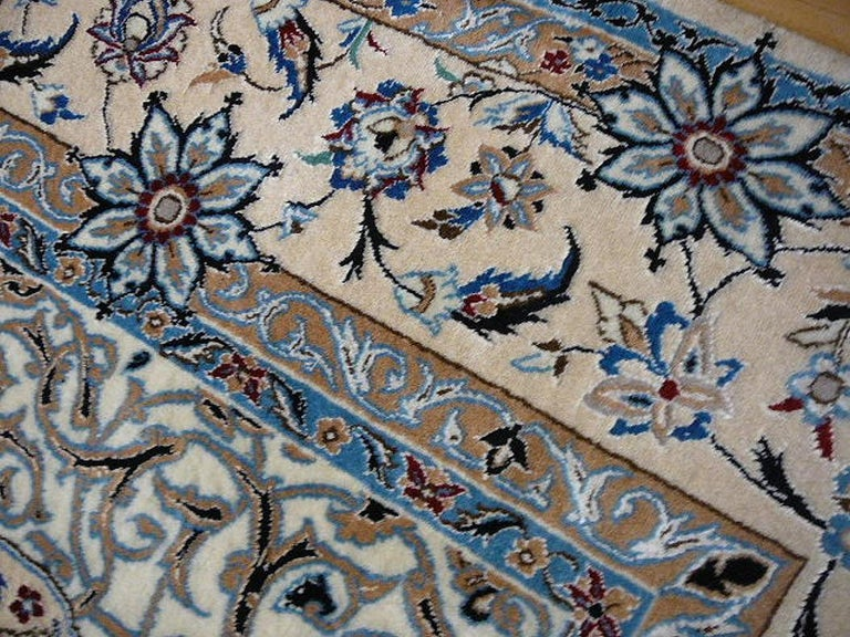 Very Fine Nain Rug For Sale 9