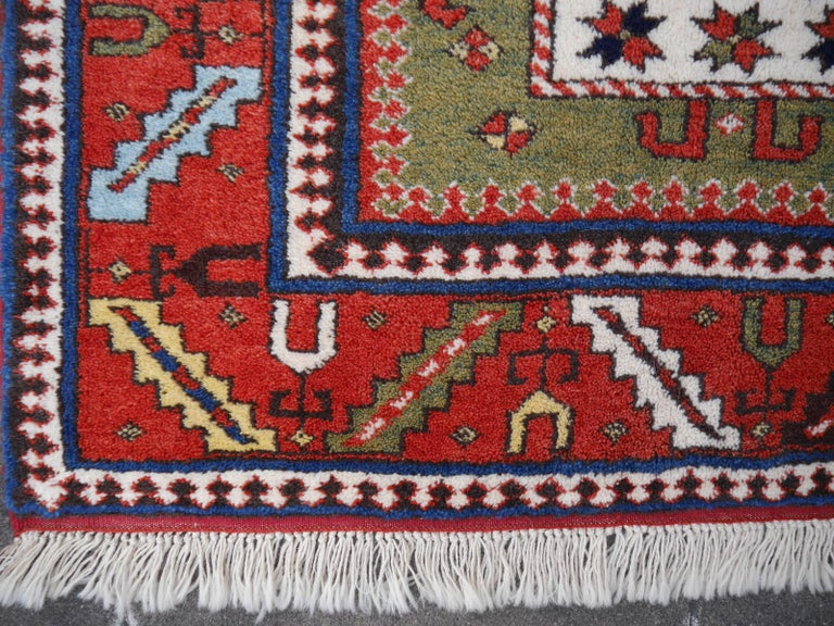 Vintage Kazak Charachoph rug