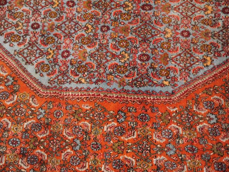 Large Semi Antique Bidjar Rug For Sale 2