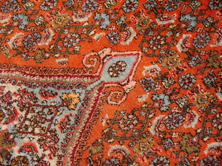 Large Semi Antique Bidjar Rug For Sale 3