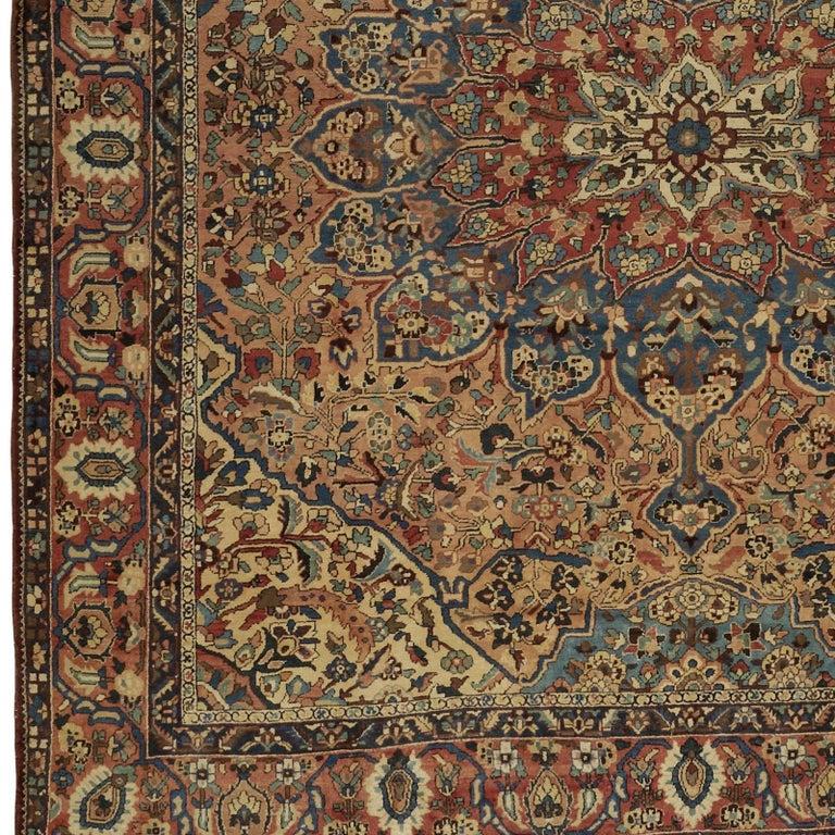 Oversize Antique Bakhtiari Carpet 4