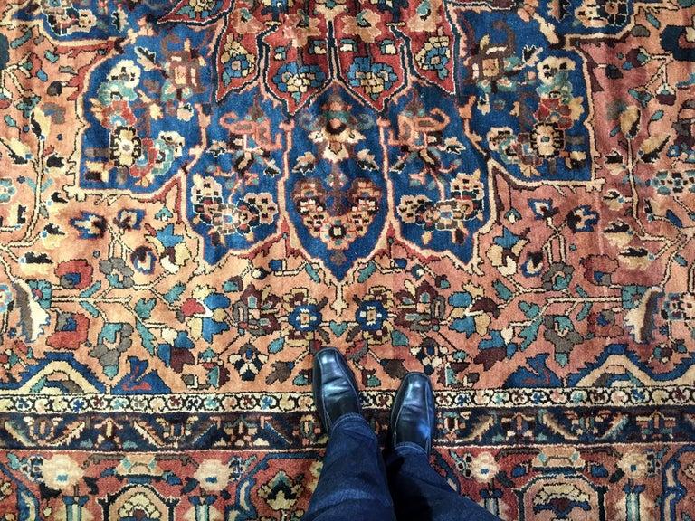 Oversize Antique Bakhtiari Carpet 6