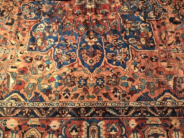 Oversize Antique Bakhtiari Carpet 8