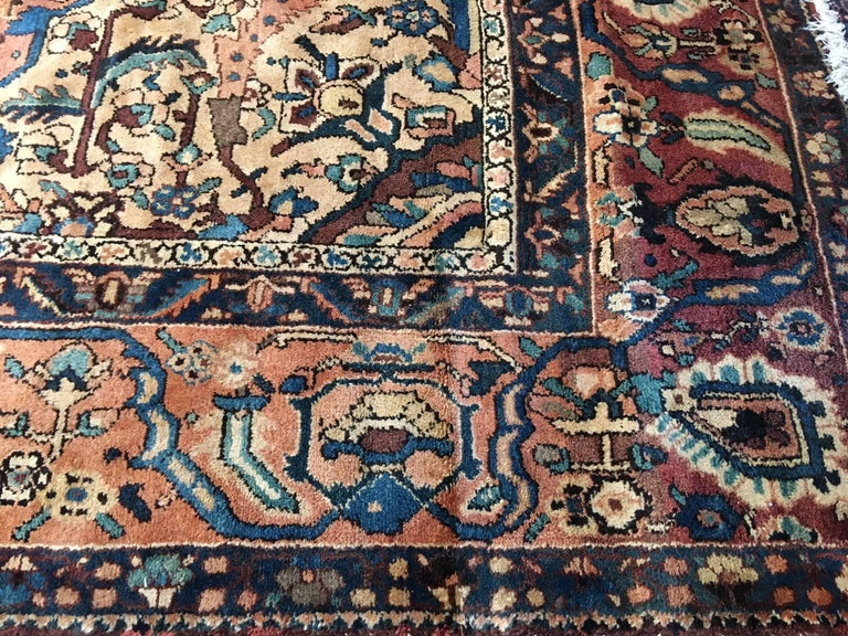 Oversize Antique Bakhtiari Carpet 10