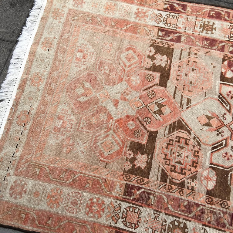 Antique Caucasian Karabagh Rug In Good Condition For Sale In Lohr, Bavaria, DE