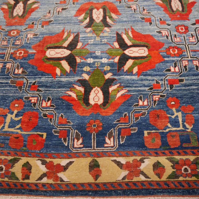 Hand-Knotted Vintage Turkish Rug For Sale