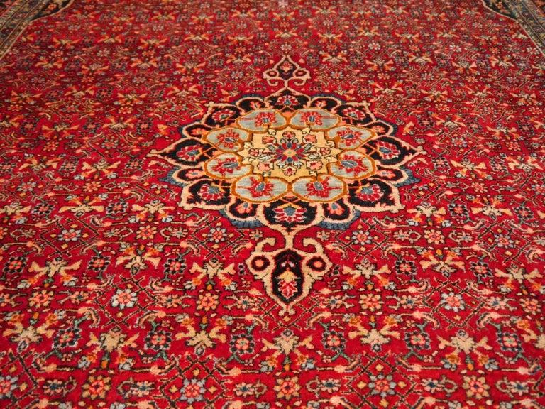 20th Century Semi Antique Persian Rug from Bidjar Mid-Century For Sale
