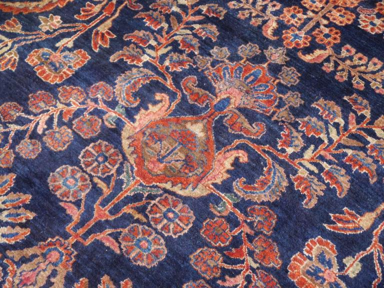 20th Century Antique Oversize Sarouk Persian Rug For Sale