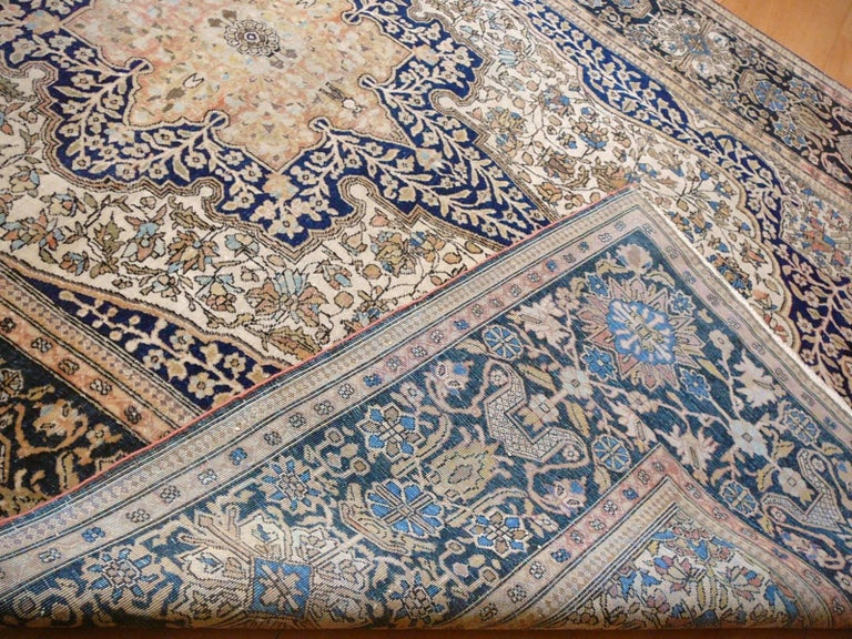 Master Mohtasham was the most famous weaver and workshop owner in the last quarter of the 19th century in ancient Persia. His rugs are of very fine weave, fanastic wool quality and exceptional design. These collector pieces are among the most looked
