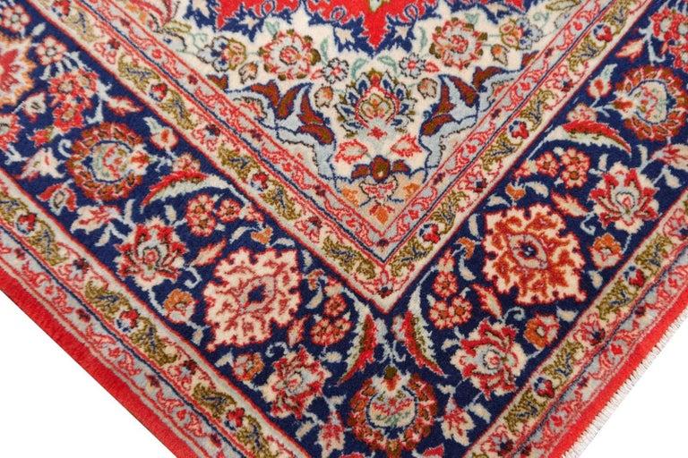 Isfahan Persian Wool and Silk Rug 2