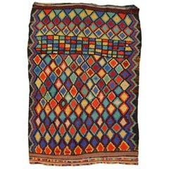 Vintage North African Moroccan Azilal Berber Rug