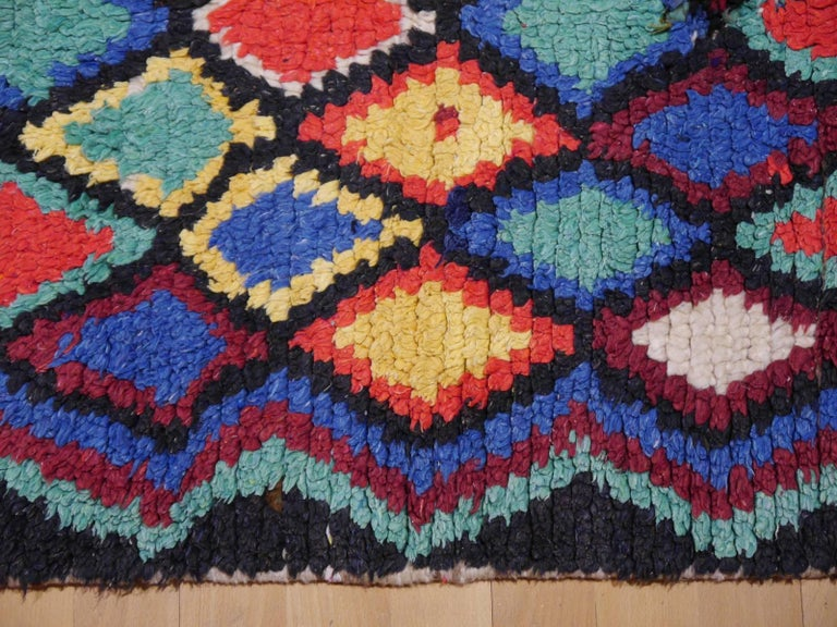 Vintage North African Moroccan Azilal Berber Rug 10
