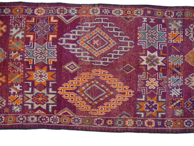Mid-20th Century Moroccan / North African Vintage Berber Rug For Sale