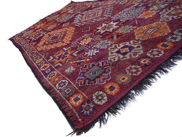 Moroccan / North African Vintage Berber Rug For Sale 3