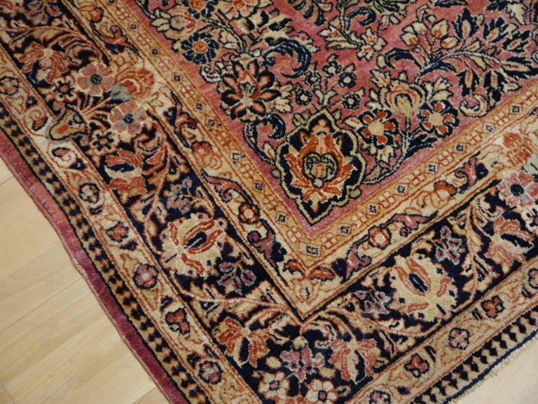 Antique Rug Early 20th Century Classic  Carpet In Good Condition For Sale In Lohr, Bavaria, DE