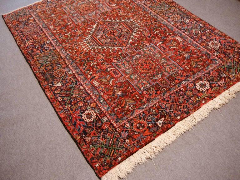 20th Century Heriz Persian Antique Rug For Sale