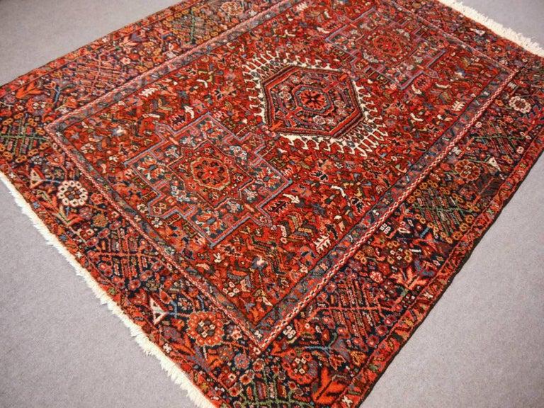 Heriz Persian Antique Rug For Sale 1