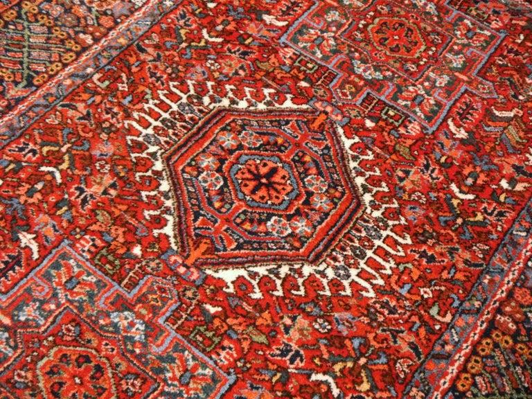 Heriz Persian Antique Rug For Sale 3