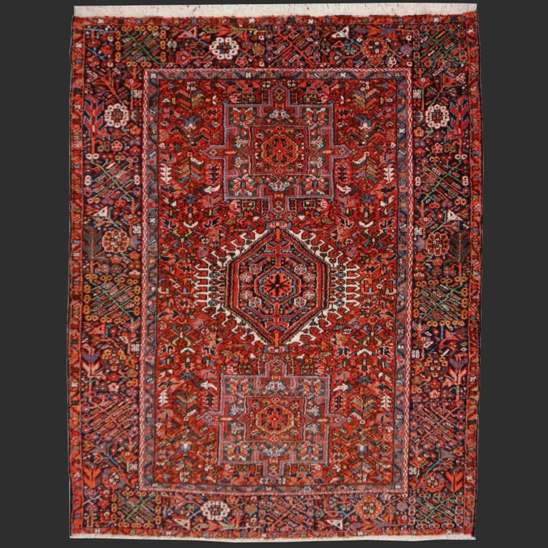 Heriz Persian Antique Rug For Sale 4
