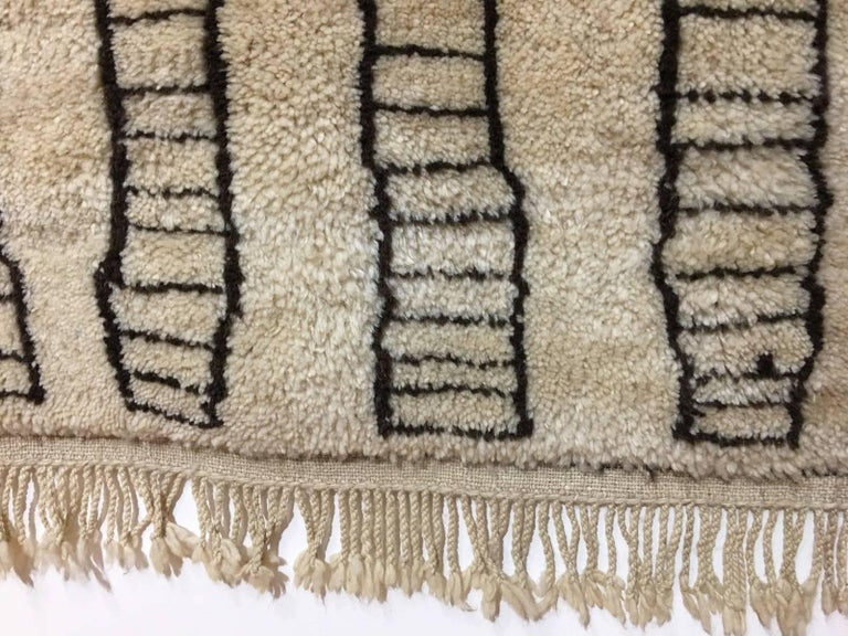 Tribal Beni Ourain Vintage Rug in