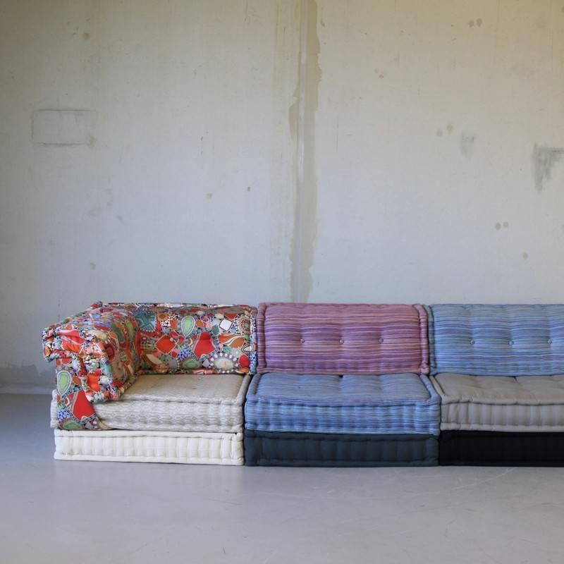 Mah jong modular sofa group by roche bobois at 1stdibs for Roche bobois canape mah jong