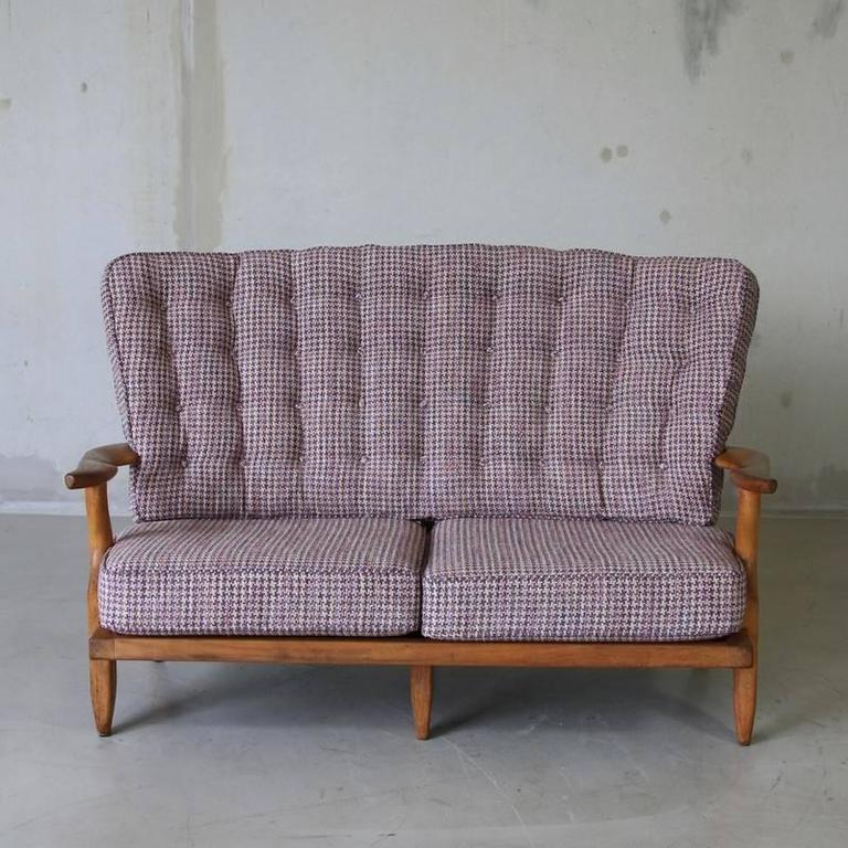 Two seat sofa by guillerme and chambron 1950s for sale at for American sofa berlin