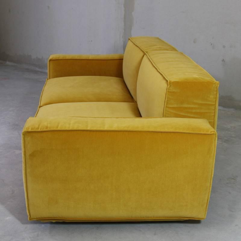 marechiaro xiii 39 yellow 39 sofa by arflex italy for sale