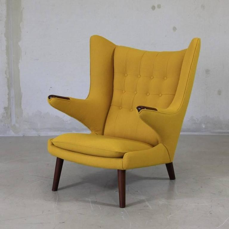 Hans J Wegner Pp19 Papa Bear Chair At 1stdibs
