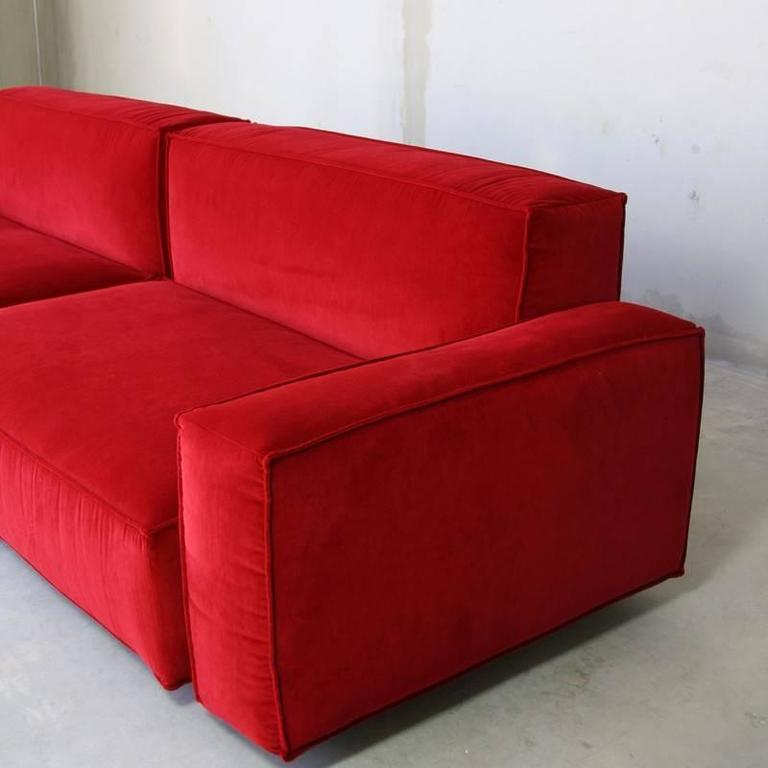 Marechiaro Xiii 39 Red 39 Sofa By Arflex Italy For Sale At 1stdibs