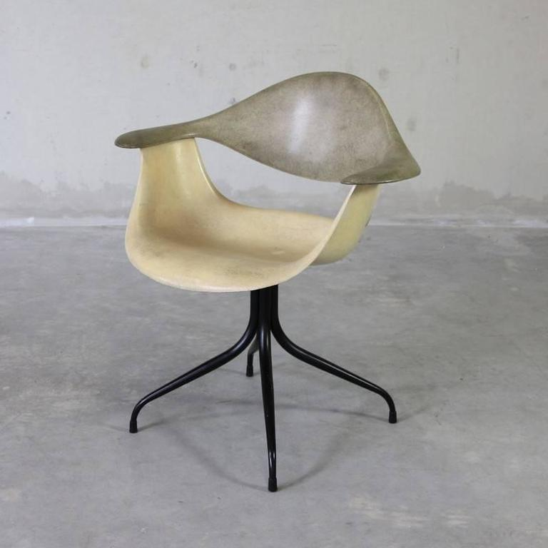 DAF Swag Leg Chair, Designed By George Nelson, Herman Miller, U.S.A. 1958  This
