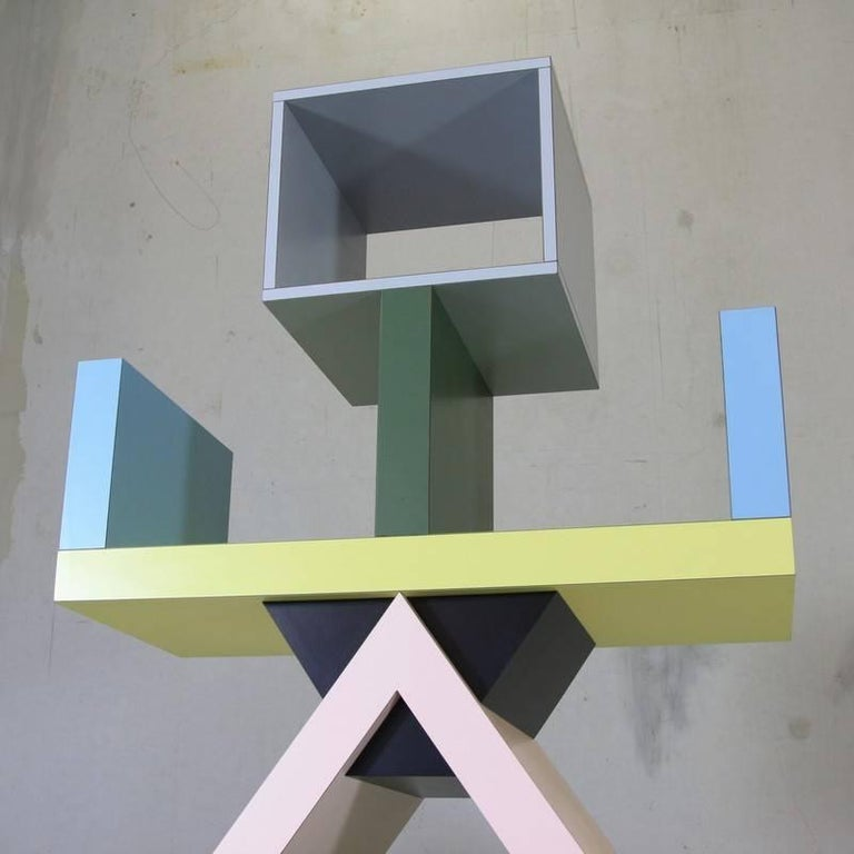 Late 20th Century Ettore Sottsass, Carlton Bookcase For Sale