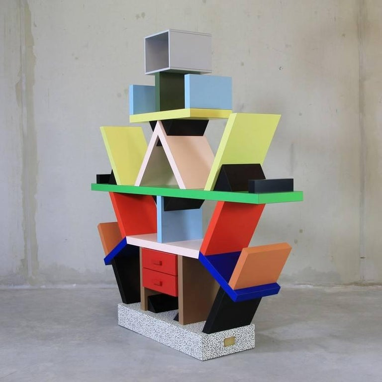 Ettore Sottsass, Carlton Bookcase For Sale 2