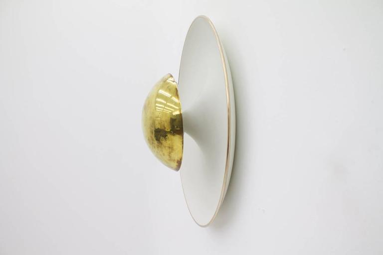 Wall Sconces Flush Mount : Wall Sconce or Flush Mount Ceiling by Gino Sarfatti at 1stdibs