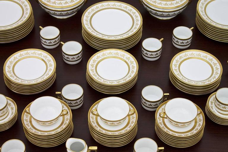Very large dining and coffee set \ Torinio\  with a total of 127 parts by & Large Dining and Coffee Porcelain Set \