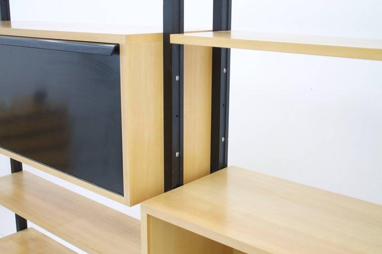 Very Rare Freestanding Shelf by Architect Alfred Altherr, Switzerland, 1955 In Good Condition For Sale In Frankfurt / Dreieich, DE