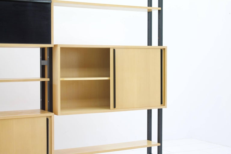 Mid-20th Century Freestanding Shelf by Alfred Altherr for Freba Switzerland, 1955 For Sale