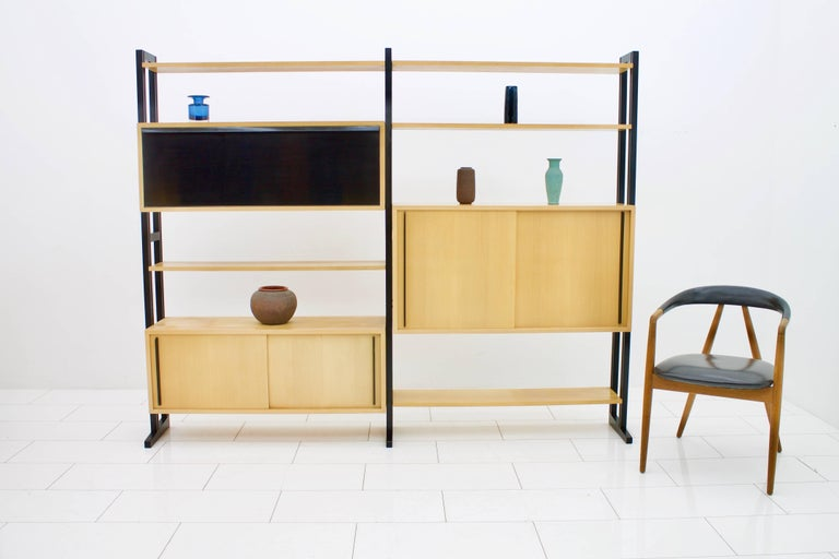 Freestanding Shelf by Alfred Altherr for Freba Switzerland, 1955 For Sale 3