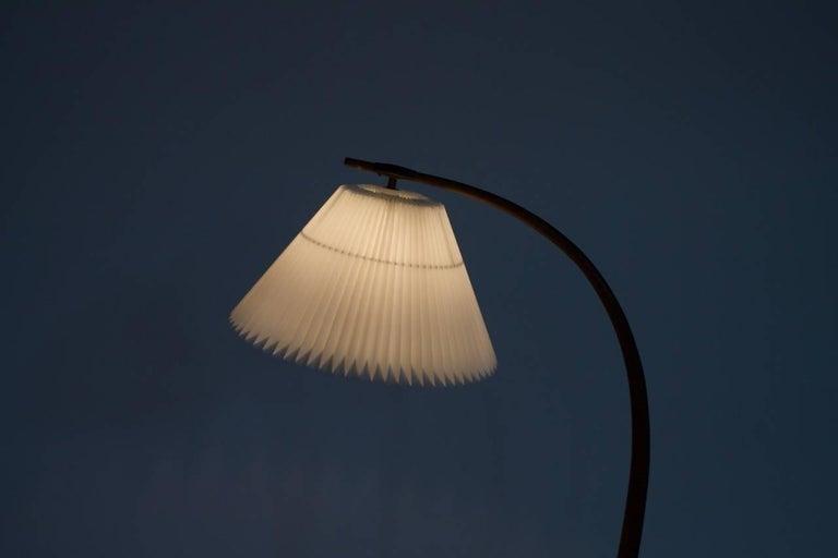 Severin Hansen Jr. Teak Floor Lamp 'Bridge' Denmark 1950s For Sale 6