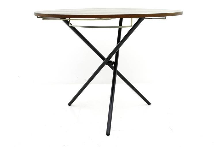 rare j rg bally adjustable dining or coffee table
