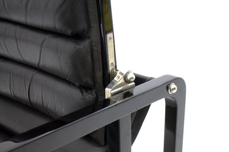 Eileen Gray Transat Lounge Chair by Ecart International, 1980s In Good Condition In Frankfurt / Dreieich, DE