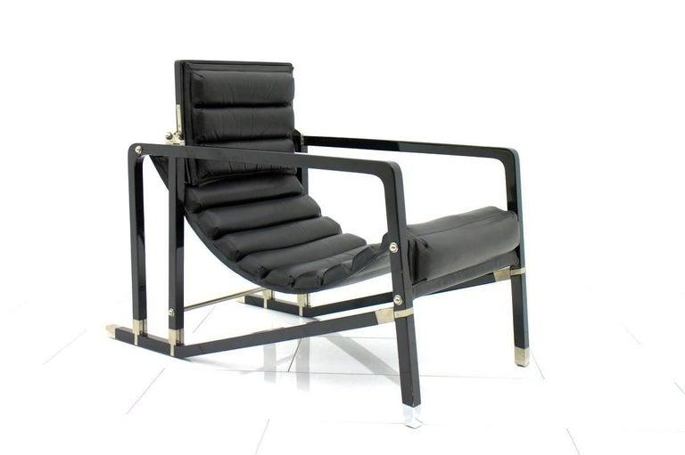 Eileen Gray Transat Lounge Chair by Ecart International, 1980s 1