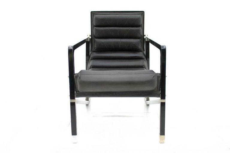 Eileen Gray Transat Lounge Chair by Ecart International, 1980s 2