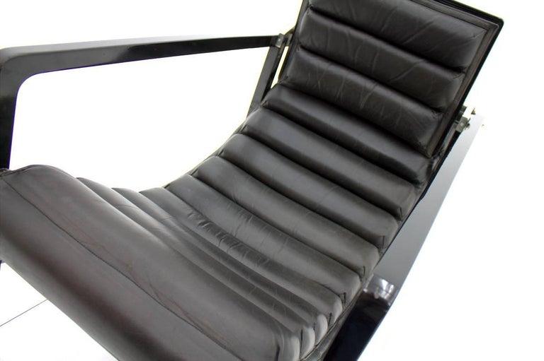 Eileen Gray Transat Lounge Chair by Ecart International, 1980s 3